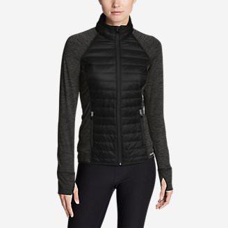 Women's IgniteLite Hybrid Jacket in Gray