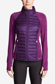 Women's IgniteLite Hybrid Jacket in Purple