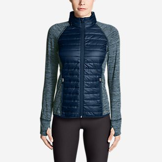 Women's IgniteLite Hybrid Jacket in Blue