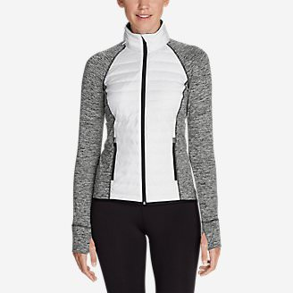 Women's IgniteLite Hybrid Jacket in White