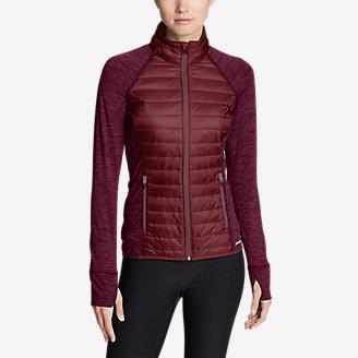 Women's IgniteLite Hybrid Jacket in Red