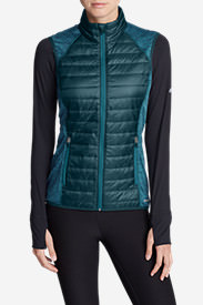 Women's IgniteLite Hybrid Vest in Green