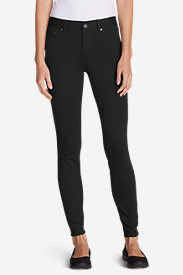 Women's Passenger Ponte 5-Pocket Pants in Black