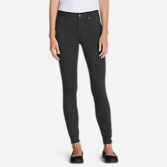 Women's Passenger Ponte 5-Pocket Pants in Gray