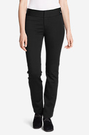 Women's Passenger Ponte Pants in Black
