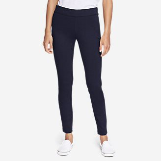 Women's Passenger Ponte Skinny Leg Pants in Blue