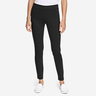 Women's Passenger Ponte Skinny Leg Pants in Black