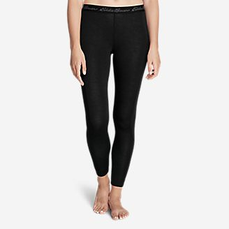 Women's Midweight FreeDry Merino Hybrid Baselayer Pants in Black