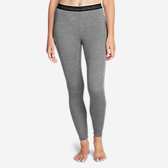 Women's Heavyweight FreeDry Merino Hybrid Baselayer Pants in Gray