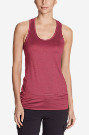 Women's Infinity Tank Top in Red