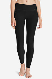 Women's Crossover Trail Tight Leggings in Black
