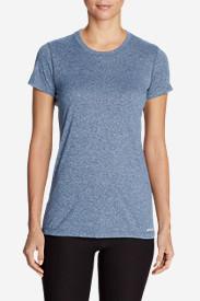 Women's Resolution Short-Sleeve Crew T-Shirt in Blue