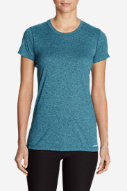 Women's Resolution Short-Sleeve Crew T-Shirt in Blue