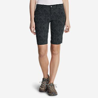 Women's Horizon Bermuda Shorts - Print, 11' in Gray