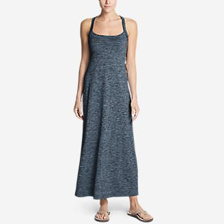 Women's Aster Maxi Dress - Space Dye in Blue