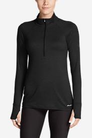 Women's Resolution Plus 1/4-Zip in Black