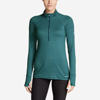 Women's Resolution Plus 1/4-Zip in Green