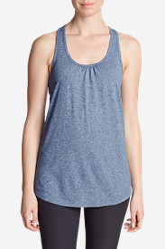 Women's Resolution Tunic Tank Top in Blue