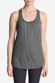 Women's Resolution Tunic Tank Top in Gray
