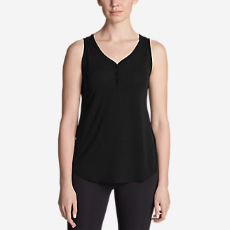 Women's Mercer Knit Tank Top in Black