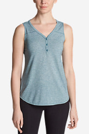 Women's Mercer Knit Tank Top in Blue