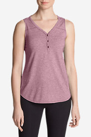 Women's Mercer Knit Tank Top in Red