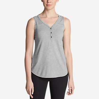 Women's Mercer Knit Tank Top in Gray