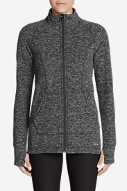 Women's Quest Fleece Run Around Jacket in Gray