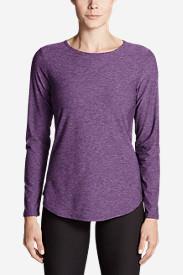 Women's Infinity Swing T-Shirt in Purple