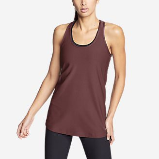 Women's Trail Tank Top in Red