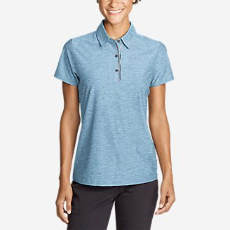 Women's Infinity Pro Short-Sleeve Polo Shirt in Blue