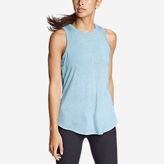 Women's Mercer Tank in Blue