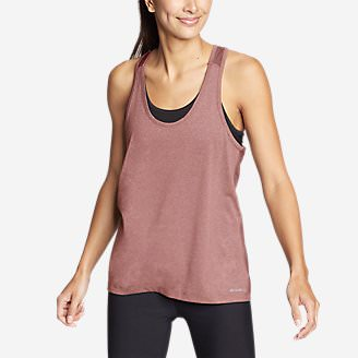 Women's TrailCool Racerback Tank Top in Red