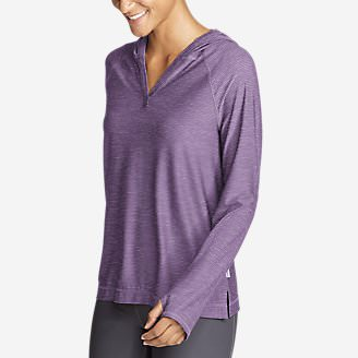 Women's Infinity Long-Sleeve Hoodie in Purple