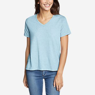 Women's Mercer Short-Sleeve Easy T-Shirt in Blue