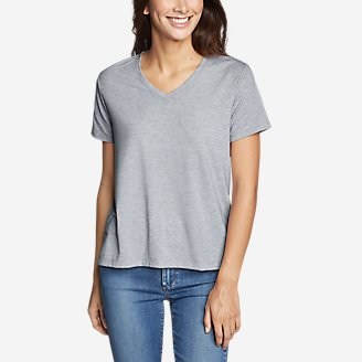 Women's Mercer Short-Sleeve Easy T-Shirt in Gray