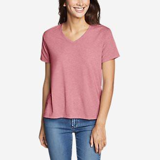 Women's Mercer Short-Sleeve Easy T-Shirt in Red
