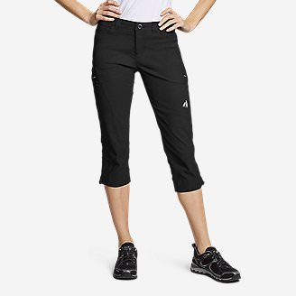 Women's Guide Pro Capris in Black