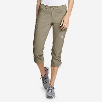 Women's Guide Pro Capris Tall in Beige