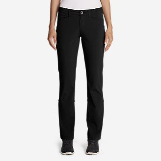 Women's Horizon Roll-Up Pants in Black