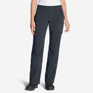 Women's Polar Fleece-Lined Pants in Blue