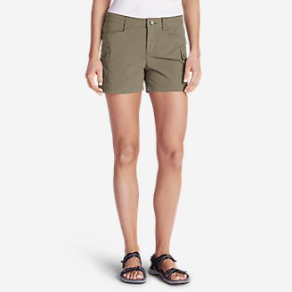 Women's Horizon Cargo Shorts in Beige