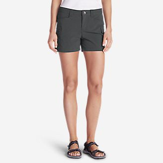Women's Horizon Cargo Shorts in Gray