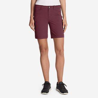 Women's Horizon Shorts in Red