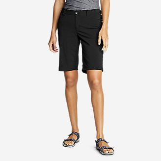 Women's Horizon Bermuda Shorts in Black