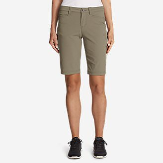 Women's Horizon Bermuda Shorts in Beige