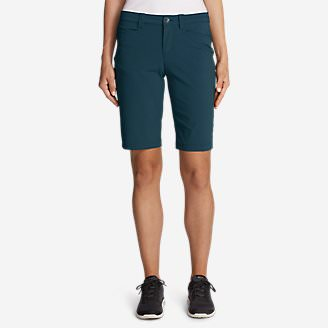 Women's Horizon Bermuda Shorts in Green