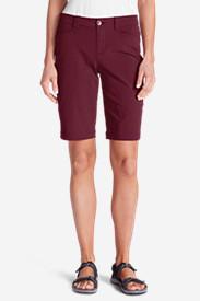 Women's Horizon Bermuda Shorts in Red