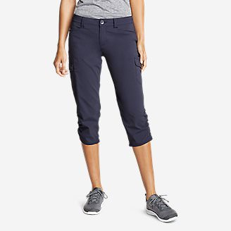 Women's Horizon Capris in Blue
