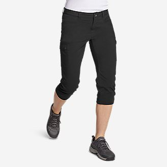 Women's Horizon Capris in Black